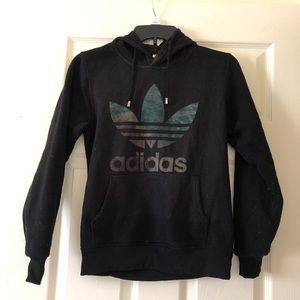 ADIDAS Jacket with Hoodie Size S